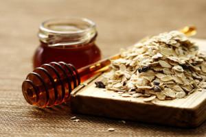 oatmeal and honey